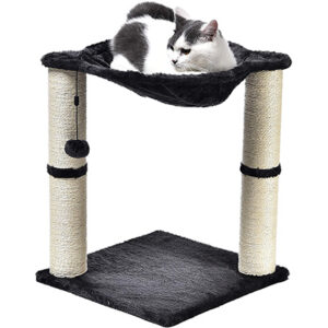 Amazon Basics Cat Tree with Hammock Bed and Scratching Post