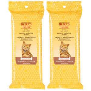 Burt's Bees for Cats Natural Dander Reducing Wipes