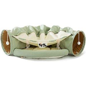 HIPIPET Indoor Cat Tunnel Bed