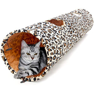 PAWZ Road Cat Toys Collapsible Indoor Cat Tunnel