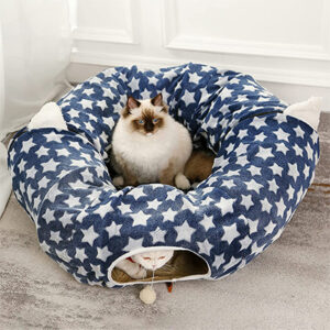Western Home 3-Way Cat Tunnel Bed
