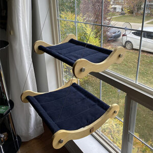 Whiskers and Paws Store Bunk Bed Cat Window Hammock