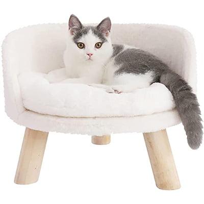 Bingopaw Elevated Cat Stool Bed