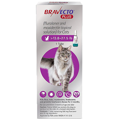 Bravecto Plus Topical Solution for Cats