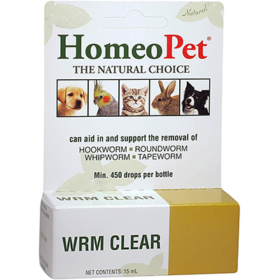 HomeoPet Worm Clearer