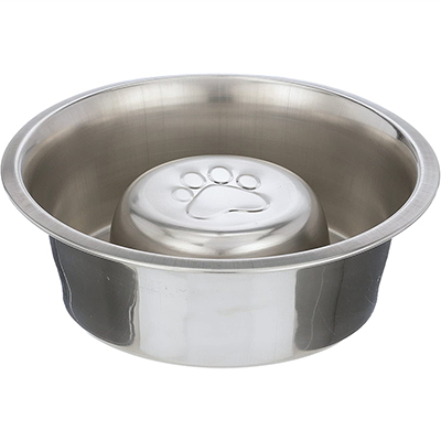 Neater Pet Brands Stainless Steel Slow Feed Dog Bowl