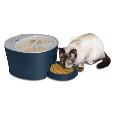 PetSafe 6-Meal Automatic Dog and Cat Feeder