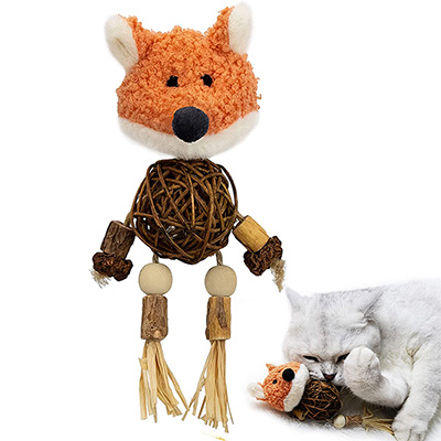 Paz's Gift Catnip Cat Chew Toy