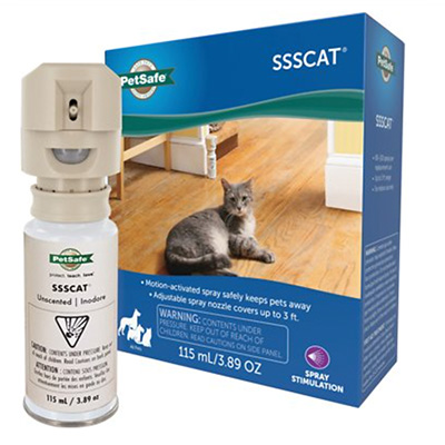 PetSafe SSSCAT Pet Deterrent Spray for Cats and Dogs